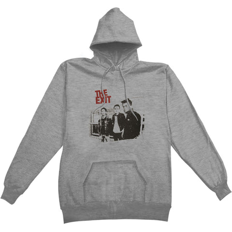 Exit Men's  Hooded Sweatshirt Grey