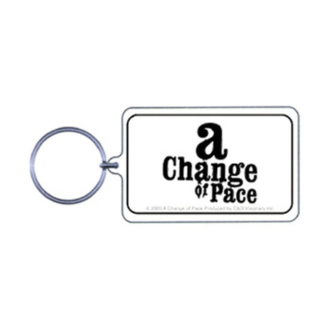 A Change Of Pace Plastic Key Chain Multi