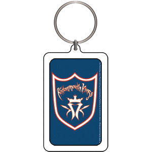 Kottonmouth Kings Shield Plastic Key Chain Multi