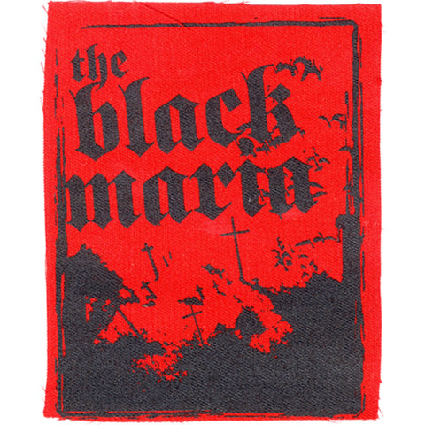 Black Maria Men's Cloth Patch Red