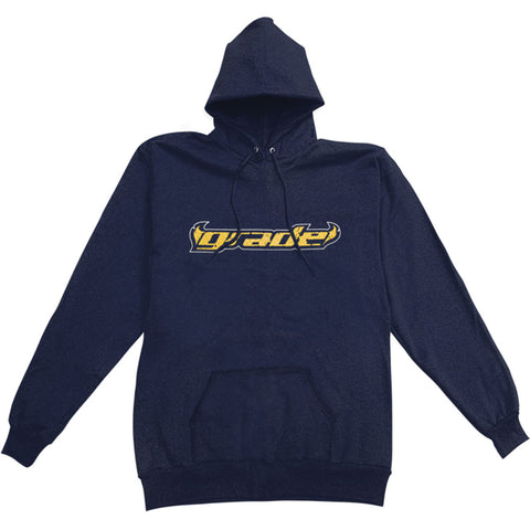 Grade Men's  Hooded Sweatshirt Blue