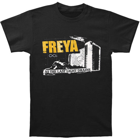 Freya Men's  Logo Building T-shirt Black