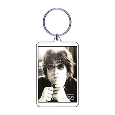 Beatles Plastic Key Chain Multi