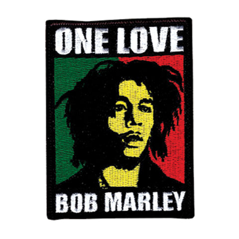 Bob Marley Men's Embroidered Patch Black