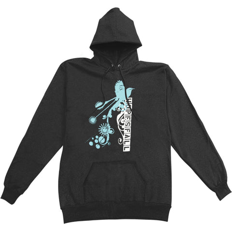 Hopesfall Men's  Hooded Sweatshirt Black Rockabilia