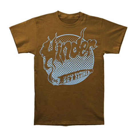 Hinder Men's  Get Stoned T-shirt Brown