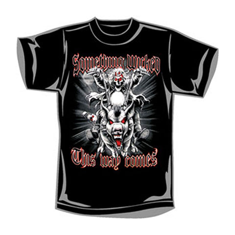 Fantasy Men's  Something Wicked T-shirt Black