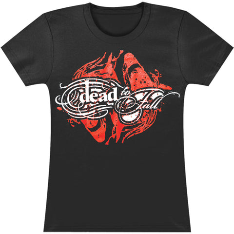 Dead To Fall  Junior Top Black