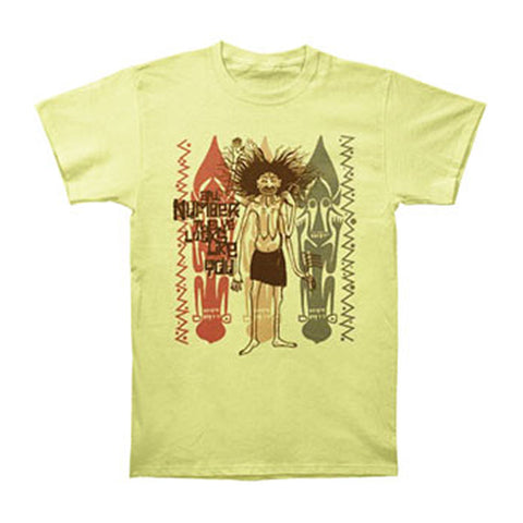 #12 Looks Like You Men's  African T-shirt Yellow Rockabilia