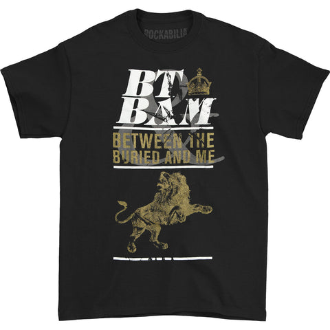 Between The Buried And Me Men's  Lions And Kings T-shirt Black