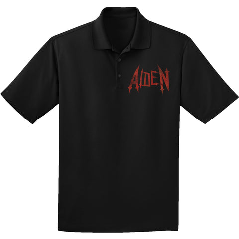 Aiden Men's  Polo Shirt Black