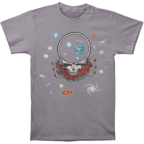 Grateful Dead Men's  Space Your Face Vintage T-shirt Blue