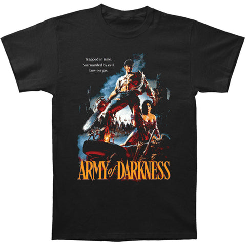 Army Of Darkness Men's  Trapped In Time T-shirt Black