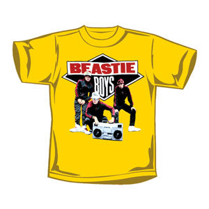 Beastie Boys Boys' Solid Gold Childrens T-shirt Yellow