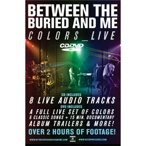 Between The Buried And Me Concert Promo Poster