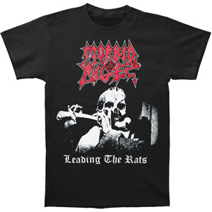 Morbid Angel Men's  Leading The Rats T-shirt Black