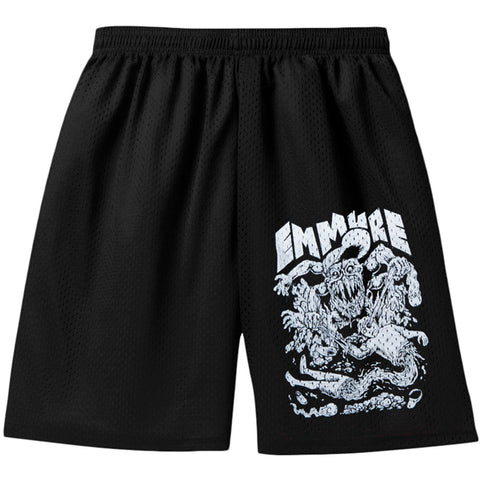Emmure Men's  Garthock Gym Shorts Black