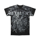 Metallica Men's  Stoned Justice T-shirt Black
