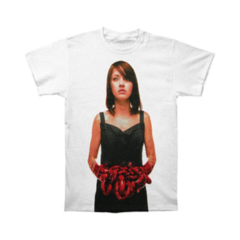 Bring Me The Horizon Men's  Suicide Season Red Slim Fit T-shirt White