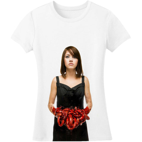 Bring Me The Horizon  Suicide Season Red Junior Top White