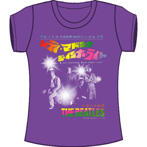 Beatles  Inner Light Junior Top Purple