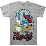 Almost Men's  Big Tongue Slim Fit T-shirt Grey
