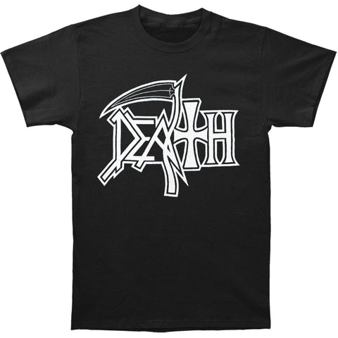 Death Men's  New Logo T-shirt Black