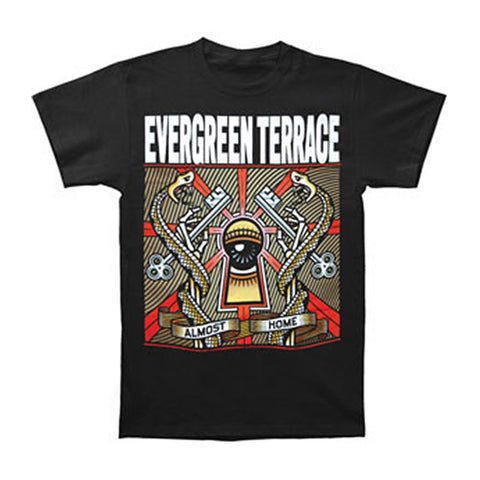 Evergreen Terrace Men's  Almost Home T-shirt Black