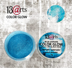 13arts Color Glow Blue saphire