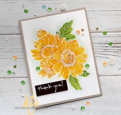 Altenew spring daisy stamp and die bundle