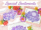 Heartfelt Creations - Elegant especially for you stamp and die set - Special sentiments collection