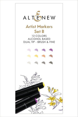 Altenew artist alcohol markers - Set B