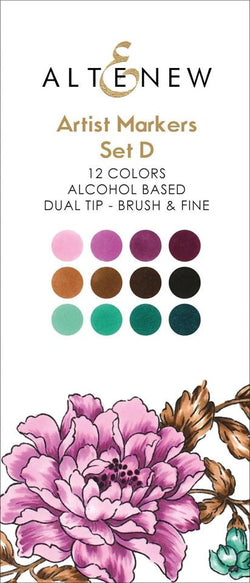 Altenew artist alcohol markers - Set D