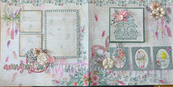 Free spirit double page scrapbook kit (title of your choice to be bought separately)