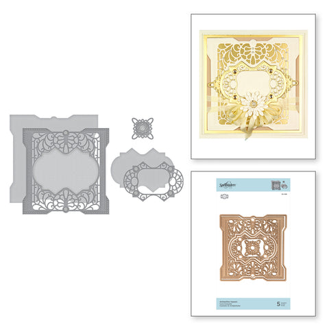 Becca Feeken Spellbinders  Antiquities square S5-396
