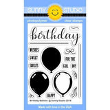 SS Birthday balloon stamp and balloon die set