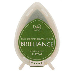Brilliance dew drop ink pad - Thyme