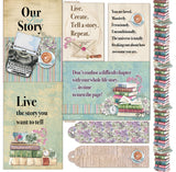 Fabscraps C128 Life stories paper pack