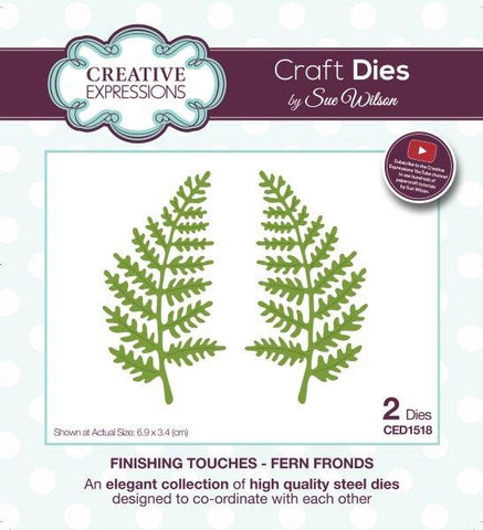 Creative expressions  - Fern fronds die - CED1518