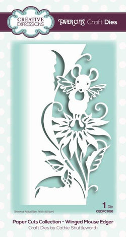 Creative Expressions  - Edger winged mouse CEDPC1095