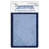 English Boutique 3D embossing folder English garden CR000006