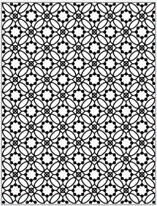 Creative Expressions embossing folder EF-061 Victorian tile