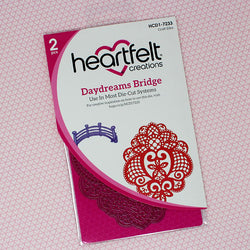 Heartfelt Creations Daydreams bridge die