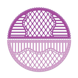 Heartfelt Creations Rounded lattice window die