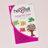 Heartfelt Creations - Countryside cottage - Countryside tree 'scapes stamp and die set