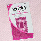 Heartfelt Creation Majestic swirl frames (5 dies)