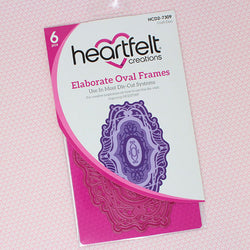 Heartfelt Creation Elaborate oval frames (6 dies)
