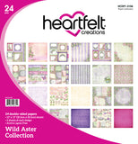 Heartfelt Creations Wild aster paper collection