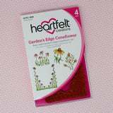 Heartfelt Creations - Garden's edge coneflower stamps and dies - HCD1-7182