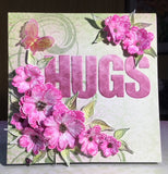 Heartfelt Creations - Sweet peony - Small - Stamp and die set